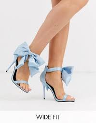 blue bow heels - Google Search