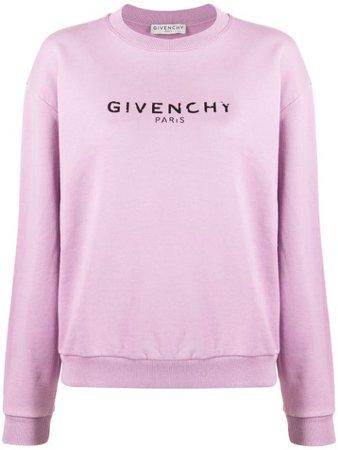Givenchy Printed Logo Sweatshirt - Farfetch