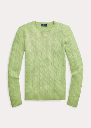 Polo Ralph Lauren, Cable-Knit Cashmere Sweater