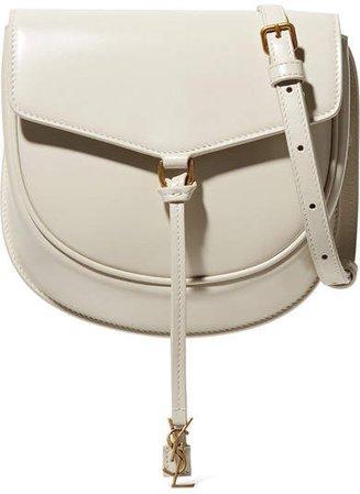 Datcha Leather Shoulder Bag - Cream