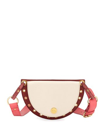 See by Chloe Kriss Colorblock Leather Belt Bag/Fanny Pack | Neiman Marcus