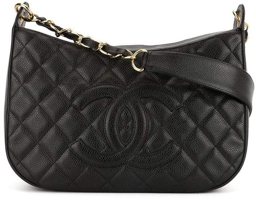 Pre-Owned quilted shoulder bag