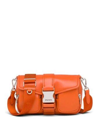 Prada Prada Pocket shoulder bag orange 1BD295VNFO2ATN - Farfetch