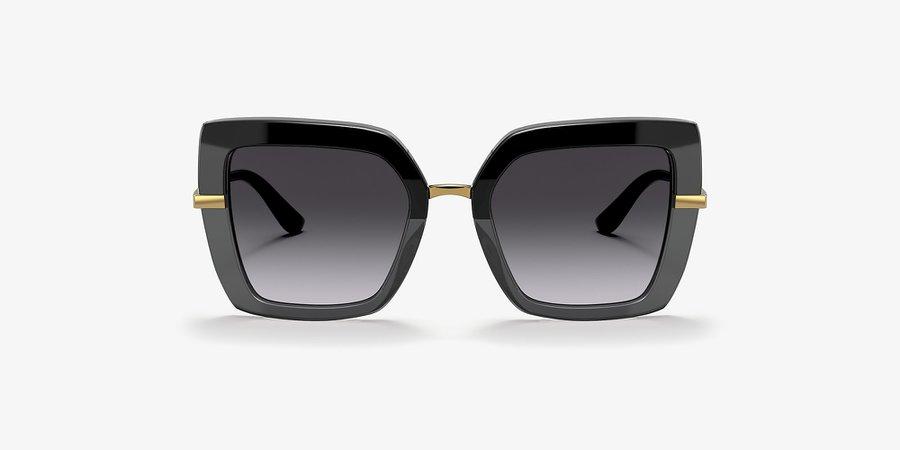 Dolce & Gabbana DG4373 Grey-Black & Black Sunglasses | Sunglass Hut USA