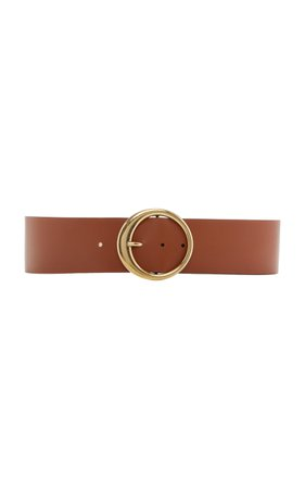Maison Margiela Wide Leather Waist Belt Size: M