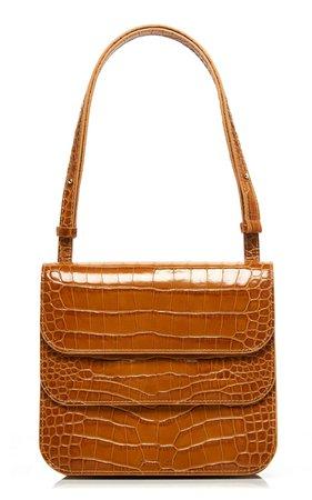 Ana Croc-Effect Leather Shoulder Bag by Rejina Pyo | Moda Operandi