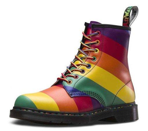 Shop Dr Martens 1460 Pride Multi | Platypus Shoes