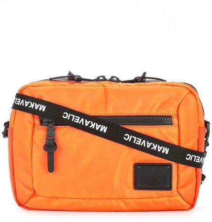 Makavelic bi-layer pouch crossbody bag