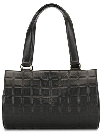 Chanel Pre Owned Choco Bar shoulder bag