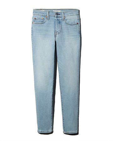Levi's Wedgie Icon Fit Jeans in Bauhaus Blues | Bloomingdale's