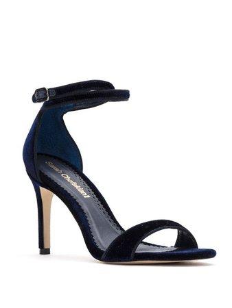 Sarah Chofakian Velvet Sandals - Farfetch