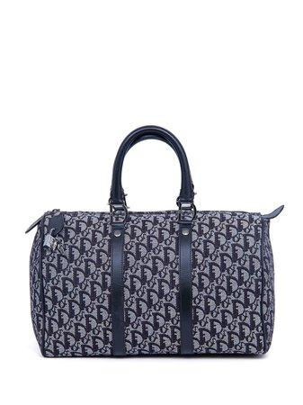 Christian Dior Pre-owned Trotter Boston Bag - Farfetch