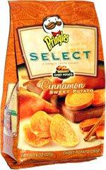 Pringles Select Cinnamon Sweet Potato Crisps