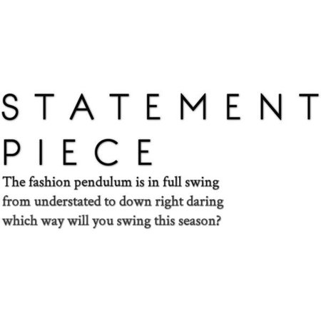 statement polyvore quote - Google Search