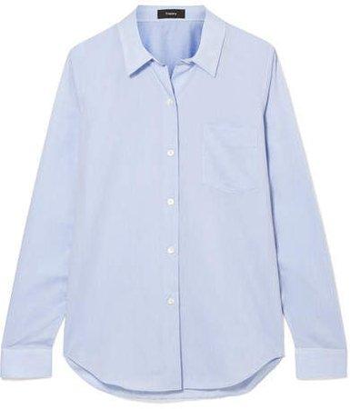 Perfect Cotton Shirt - Blue