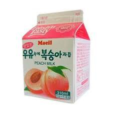 peach milk - Google Search