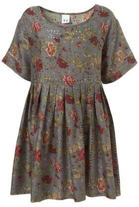 toyshop oversized babydoll floral dress