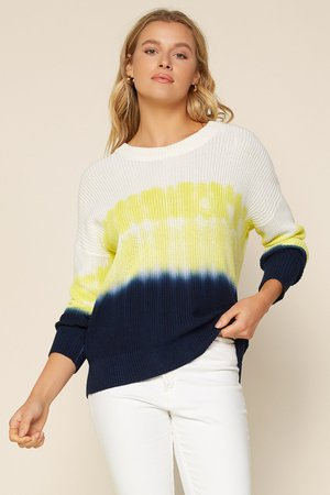 Water Color Tie Dye Sweater – SKIES ARE BLUE