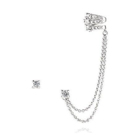 Cuff Silver Earring