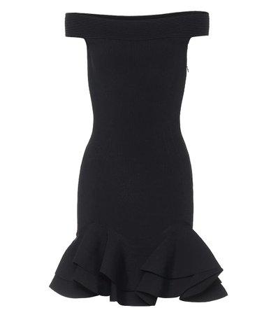 Alexander McQueen - Off-shoulder minidress | Mytheresa