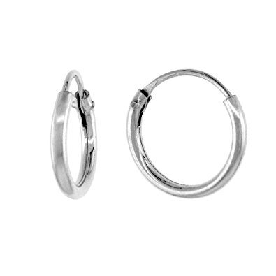 Small Hoop Earrings Silver