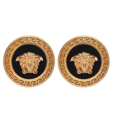 Versace - Logo earrings   Mytheresa