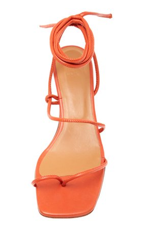 Roma Leather Lace-Up Sandals by LoQ | Moda Operandi