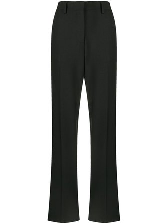 Shop Off-White high-waisted tailored trousers with Express Delivery - FARFETCH