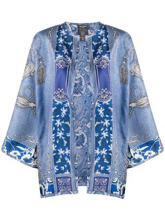 Etro Paisley-Print Kimono Ss20 | Farfetch.com
