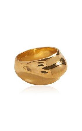 Hilma 14K Gold-Plated Ring by Pamela Love   Moda Operandi