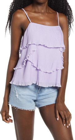 Tiered Ruffle Camisole