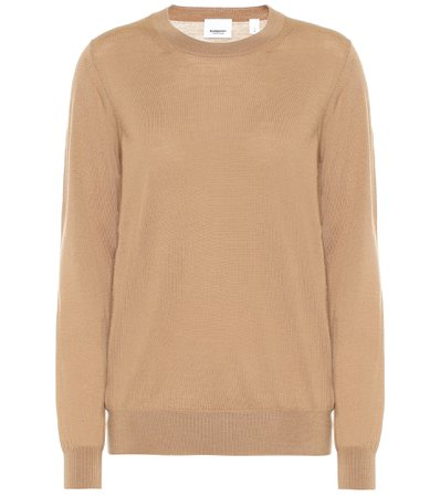 Merino Wool Sweater - Burberry | Mytheresa