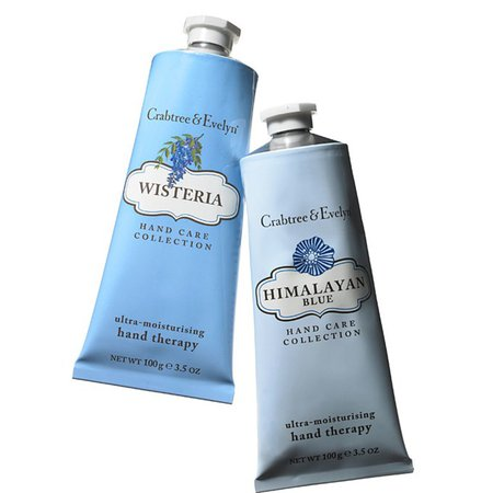 wisteria and Himalayan blue hand cream/lotion