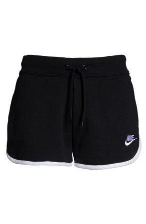 Nike Sportswear Heritage Fleece Shorts black