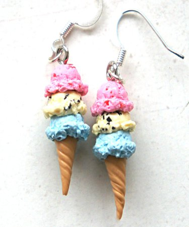 ice cream earrings - Google Search