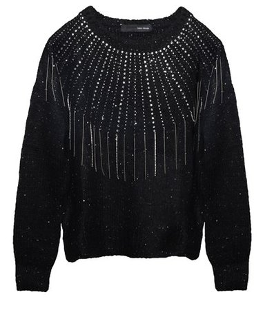Tailor Made Black Knitted Bejeweled Sweater < ΚΑΘΗΜΕΡΙΝΕΣ ΕΠΙΛΟΓΕΣ | aesthet.com