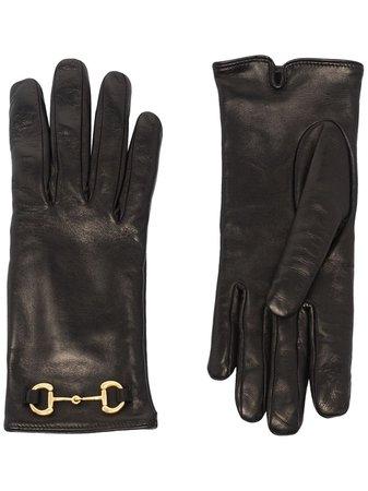 Gucci Horsebit-Embellished Gloves Aw20 | Farfetch.Com