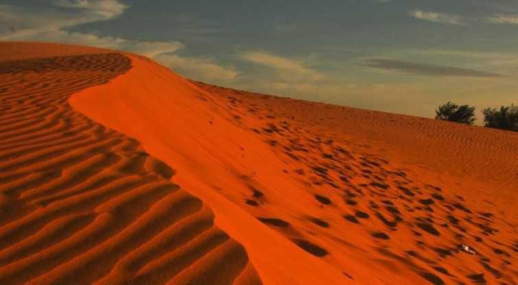 Red/Orange Dessert Sand
