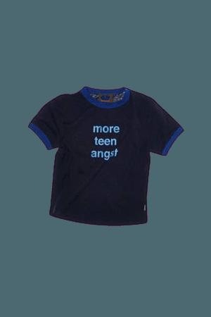 TEEN ANGST BABY TEE