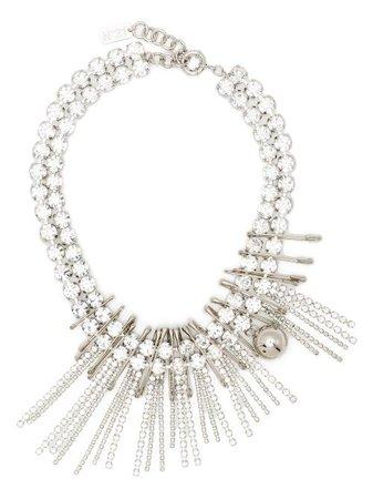 Nº21 Crystal Fringe Necklace - Farfetch