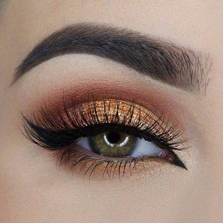 Orange Eyeshadow