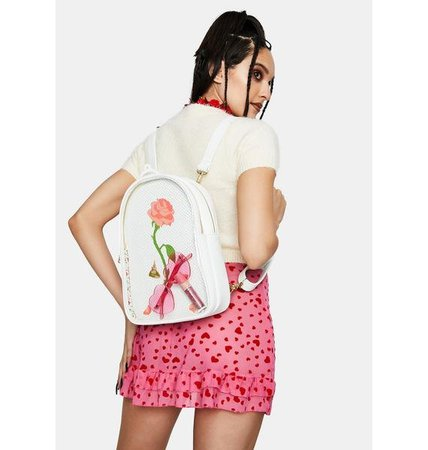 Loungefly Disney Beauty and The Beast Backpack | Dolls Kill