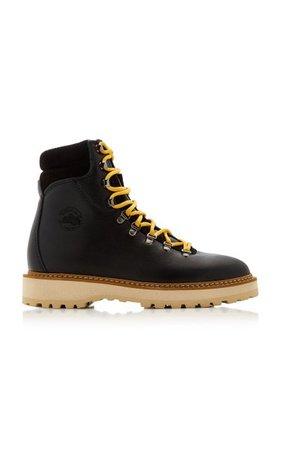 Monfumo Leather Boots By Diemme   Moda Operandi