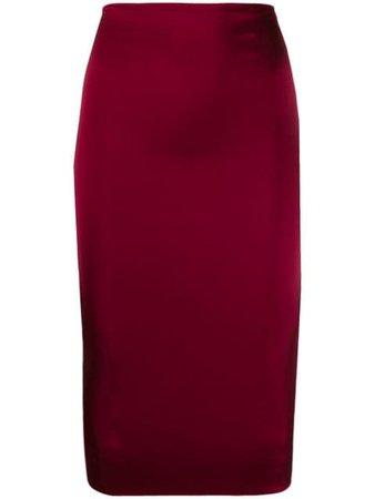 Murmur Haze Pencil Skirt MFW19HZESKT Pink | Farfetch