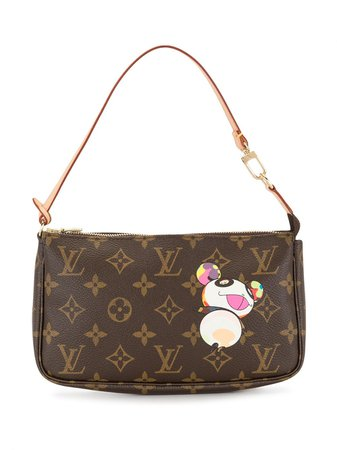 Brown Louis Vuitton 2004 pre-owned monogram top-handle bag M51981 - Farfetch