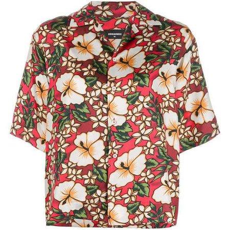 Dsquared2 Hawaiian floral-print shirt ($520)
