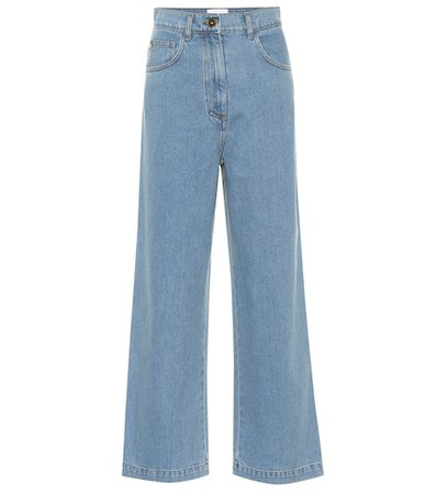 Marfa high-rise straight jeans
