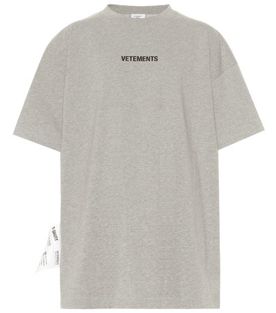 Vetements - Logo cotton T-shirt | Mytheresa