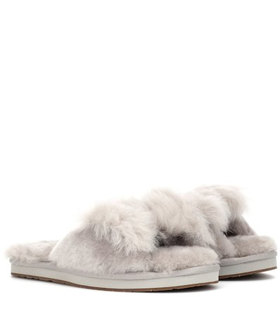 Mirabelle shearling slippers