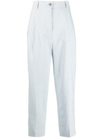 Acne Studios Pleated straight-leg Trousers - Farfetch